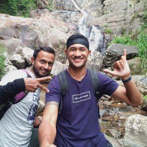 Babarakanda Waterfall/Lanka waterfalls, 4restlankatours, ella waterfalls hunting tour Trekking